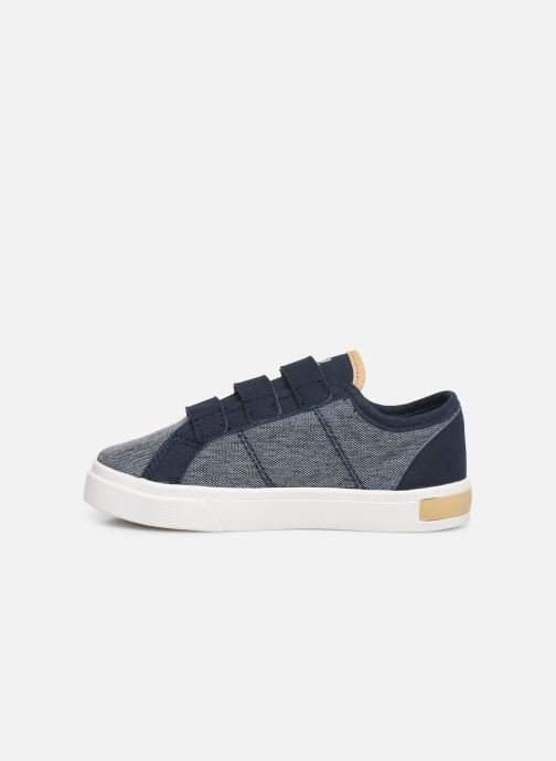 Baskets Le Coq Sportif Verdon Inf Denim Bleu vue face