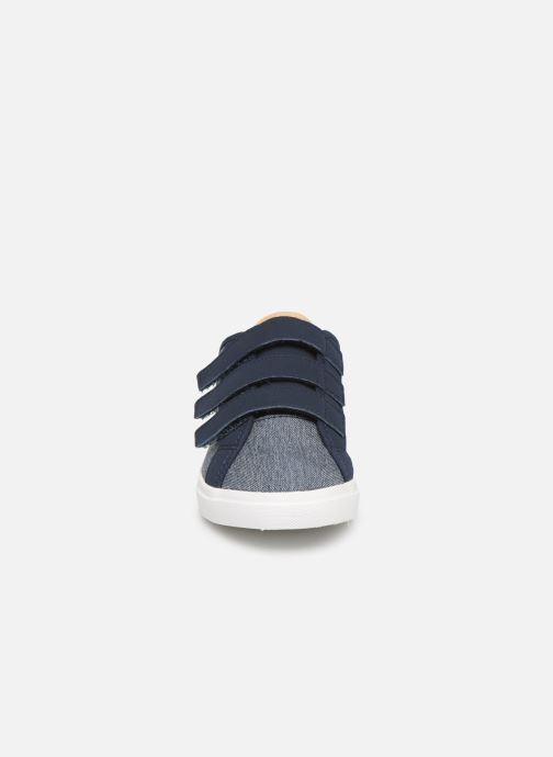 Baskets Le Coq Sportif Verdon PS Denim Bleu vue portées chaussures