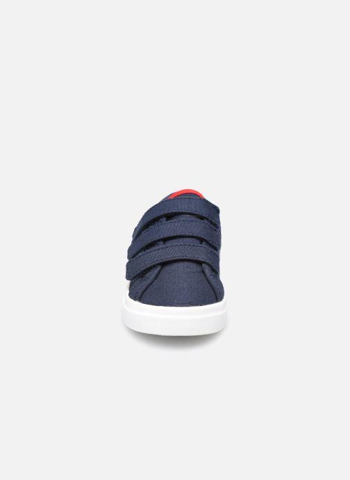 Baskets Le Coq Sportif Verdon Inf Bleu vue portées chaussures
