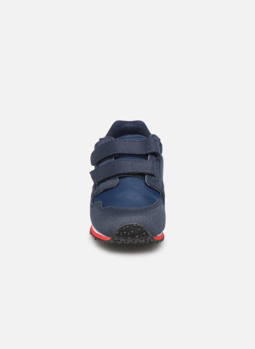 Baskets Le Coq Sportif Jazy Inf Sport Bleu vue portées chaussures