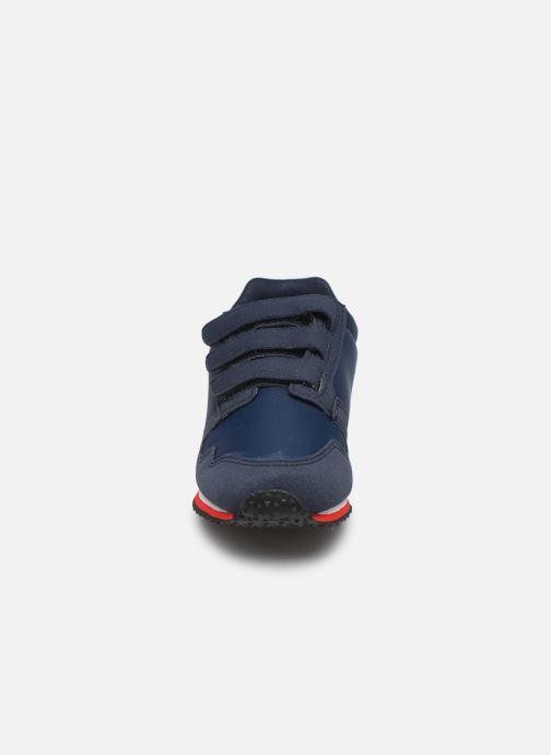 Baskets Le Coq Sportif Jazy Ps Sport Bleu vue portées chaussures