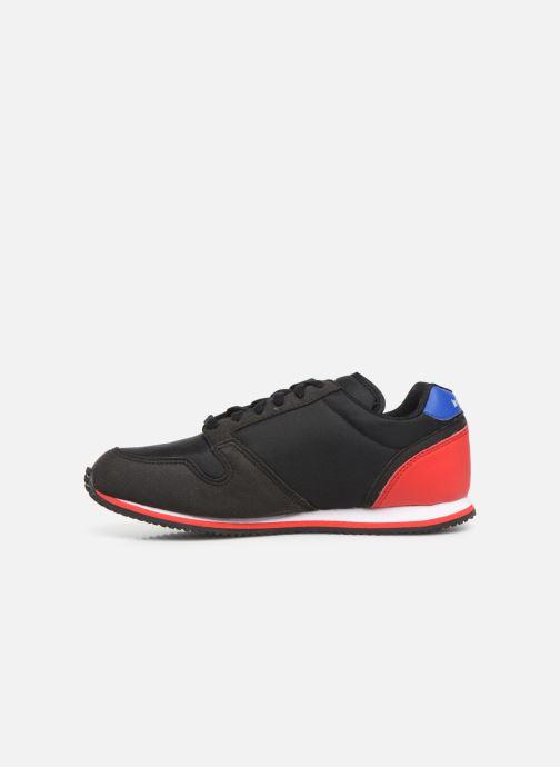Sneaker Le Coq Sportif Jazy GS Sport schwarz ansicht von vorne