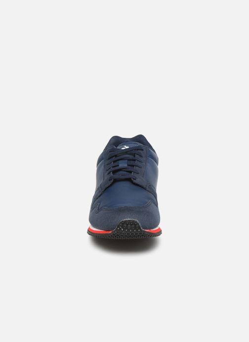 Baskets Le Coq Sportif Jazy GS Sport Bleu vue portées chaussures