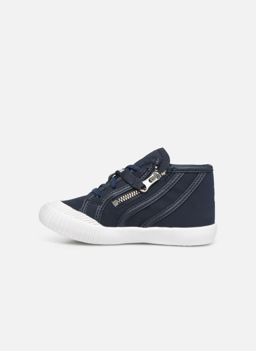 Sneakers Le Coq Sportif Nationale Mid Inf Fur Blauw voorkant