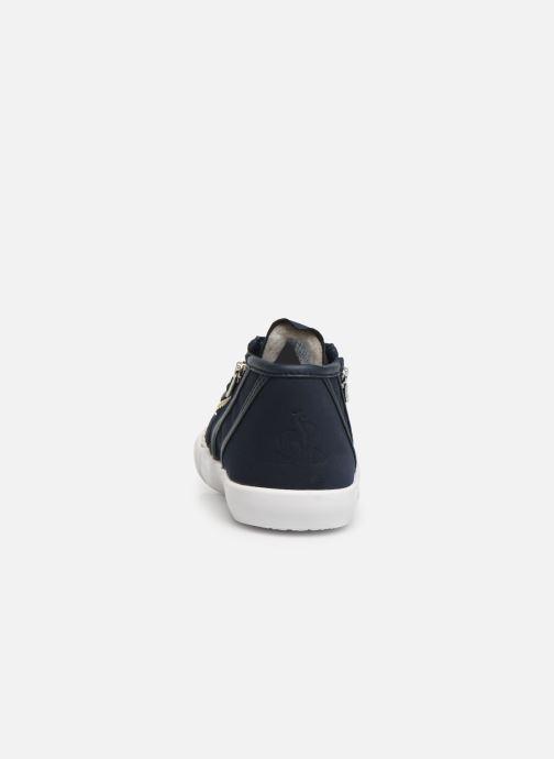 Sneakers Le Coq Sportif Nationale Mid Inf Fur Azzurro immagine destra