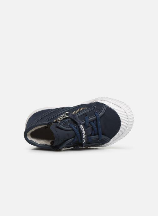 Sneakers Le Coq Sportif Nationale Mid Inf Fur Azzurro immagine sinistra