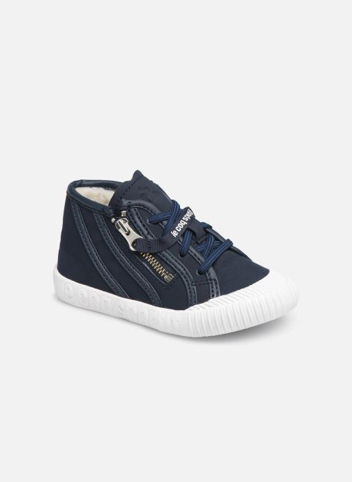 Sneakers Le Coq Sportif Nationale Mid Inf Fur Blauw detail