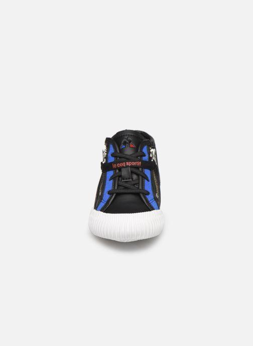 Baskets Le Coq Sportif Nationale Mid Inf Noir vue portées chaussures