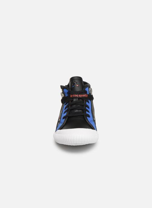 Sneaker Le Coq Sportif Nationale Mid GS schwarz schuhe getragen