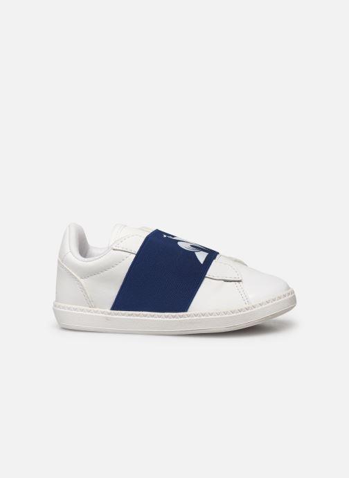 Sneakers Le Coq Sportif Courtstar Inf Strap Wit achterkant