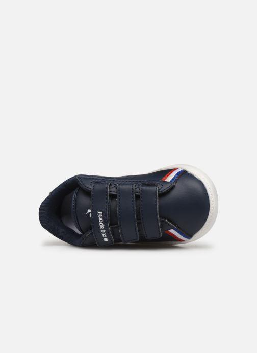 Sneakers Le Coq Sportif Courtstar Inf Sport BBR Blauw links