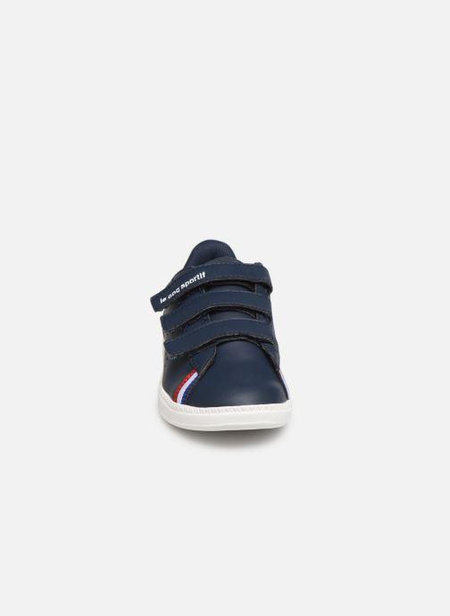Baskets Le Coq Sportif Courtstar PS Sport BBR Bleu vue portées chaussures