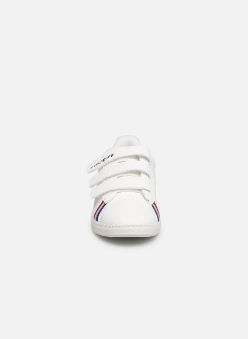 Baskets Le Coq Sportif Courtstar PS Sport BBR Blanc vue portées chaussures