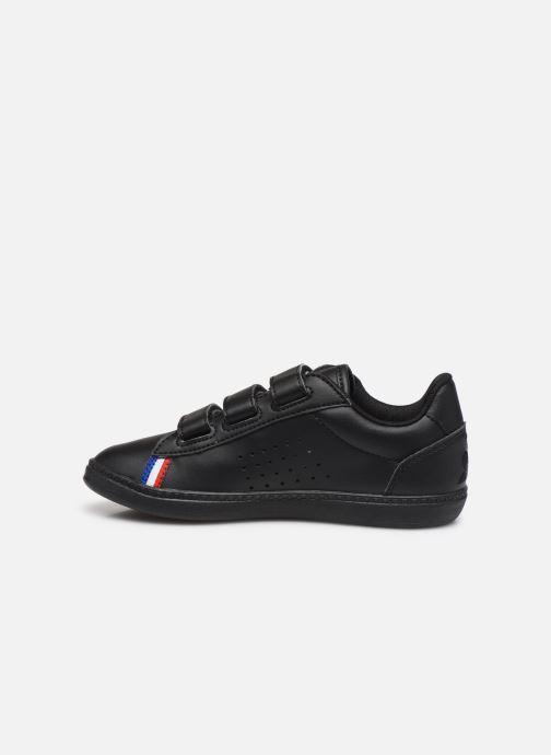 Sneakers Le Coq Sportif Courtstar PS Sport BBR Zwart voorkant
