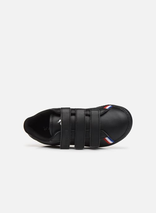 Sneakers Le Coq Sportif Courtstar PS Sport BBR Zwart links