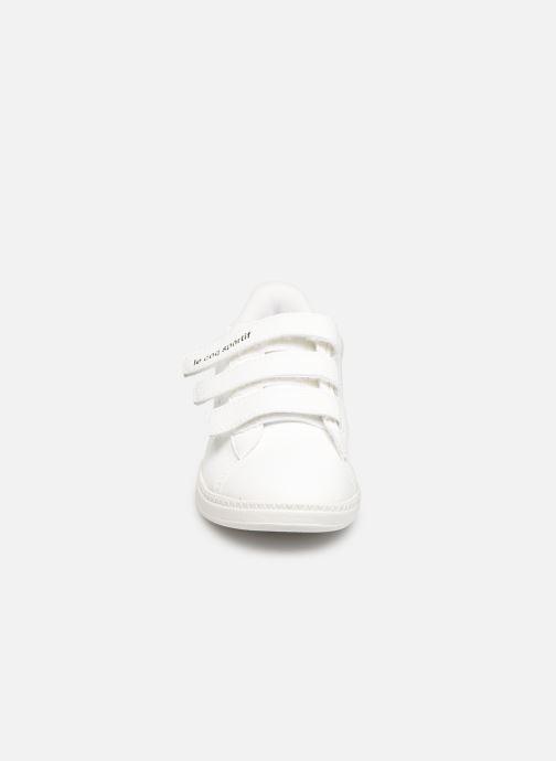 Baskets Le Coq Sportif Courtstar PS Camo Blanc vue portées chaussures