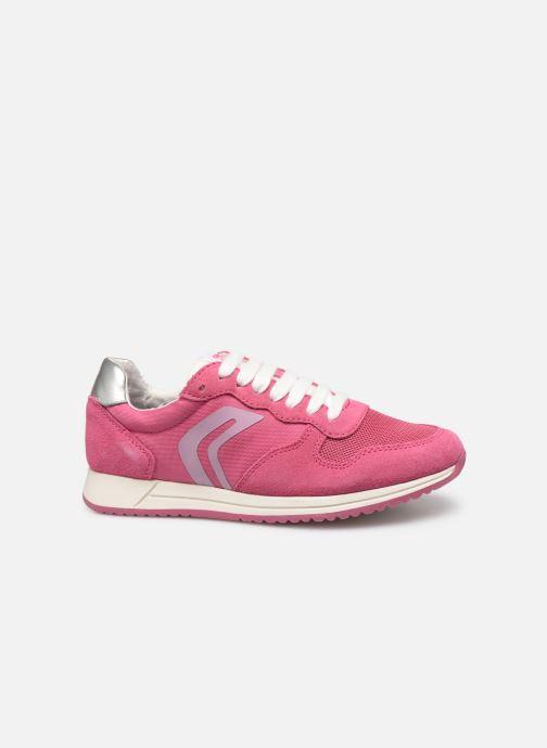 Sneakers Geox J Jensea G. J826FE Roze achterkant