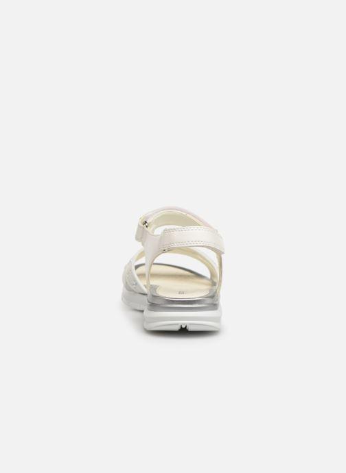 Sandales et nu-pieds Geox J Sandale Sukie G. J720VC Blanc vue droite