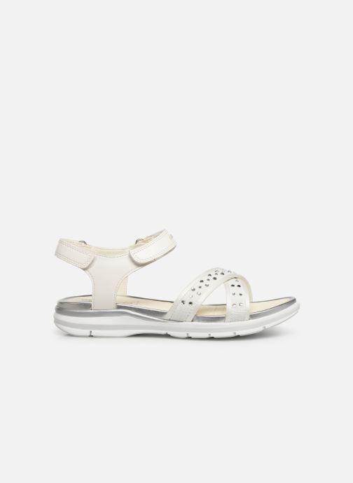 Sandales et nu-pieds Geox J Sandale Sukie G. J720VC Blanc vue derrière