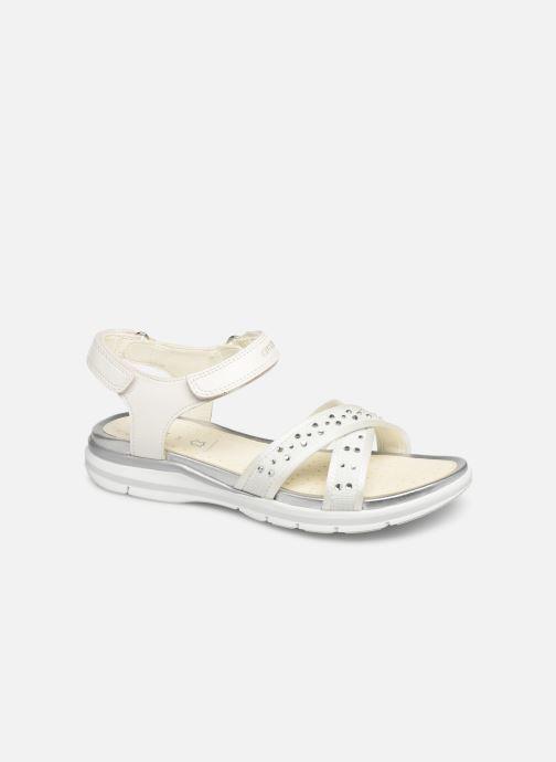 Sandales et nu-pieds Geox J Sandale Sukie G. J720VC Blanc vue détail/paire