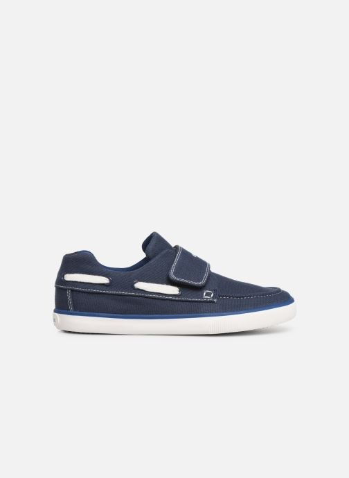 Chaussures à scratch Geox Jr Kilwi B. J82A7C Bleu vue derrière