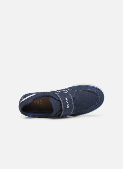 Chaussures à scratch Geox Jr Kilwi B. J82A7C Bleu vue gauche