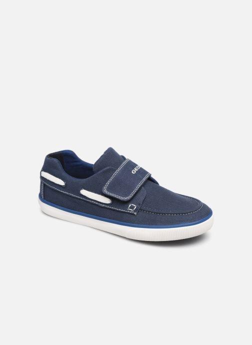 Chaussures à scratch Geox Jr Kilwi B. J82A7C Bleu vue détail/paire