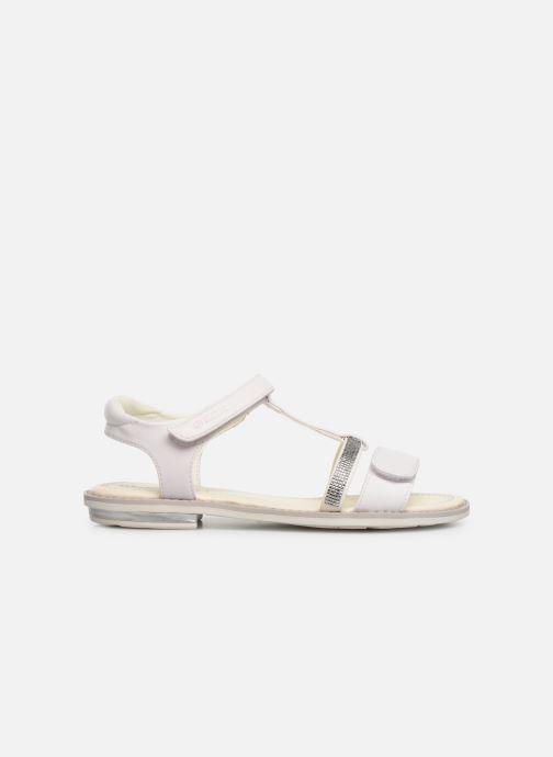 Sandales et nu-pieds Geox Jr Sandale Giglio J82E2B Blanc vue derrière