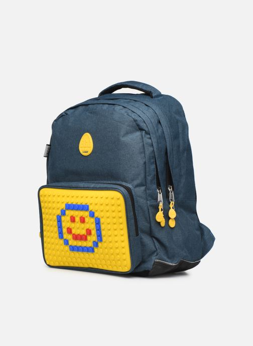 School bags Eggmania by DDP SAC A DOS 2 COMPARTIMENTS EGGIS Yellow model view