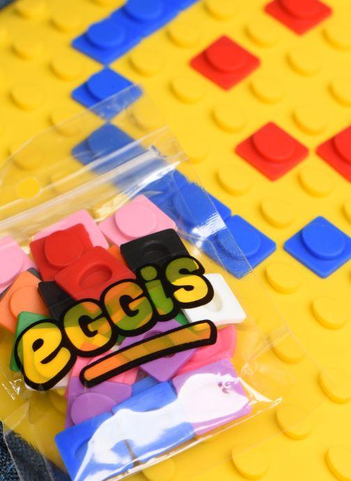 Schooltassen Eggmania by DDP SAC A DOS 2 COMPARTIMENTS EGGIS Geel links