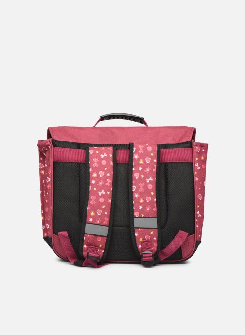Scolaire Eggmania by DDP CARTABLE 41CM Rose vue face