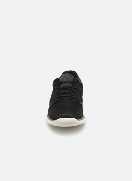 Sneaker Geox U Damian U720HA schwarz schuhe getragen