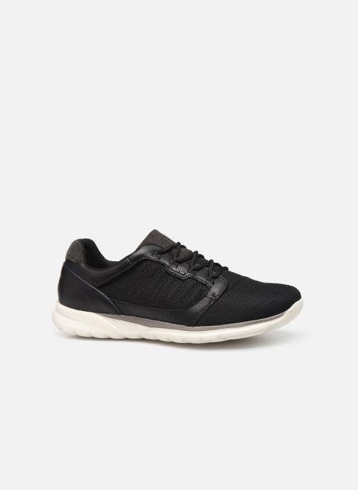 Sneaker Geox U Damian U720HA schwarz ansicht von hinten