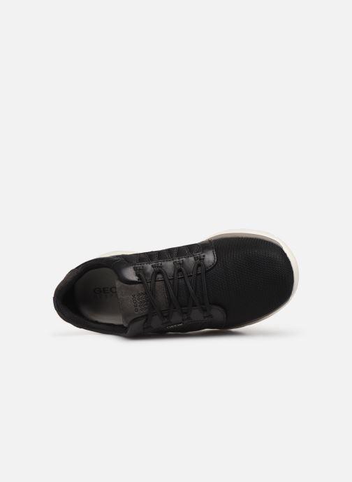 Sneaker Geox U Damian U720HA schwarz ansicht von links