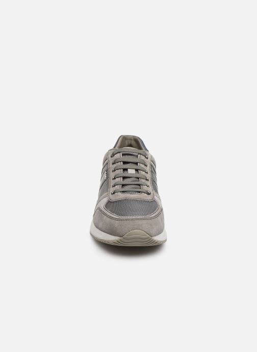 Baskets Geox U Dennie U620GB Gris vue portées chaussures