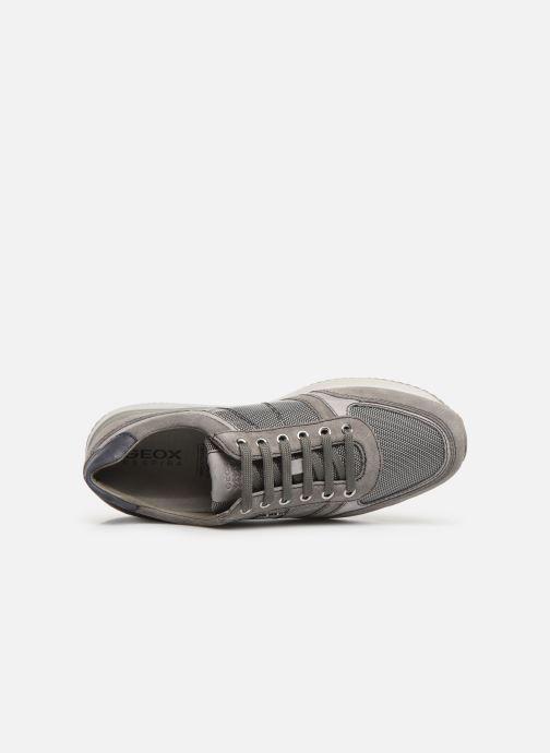 Sneakers Geox U Dennie U620GB Grijs links