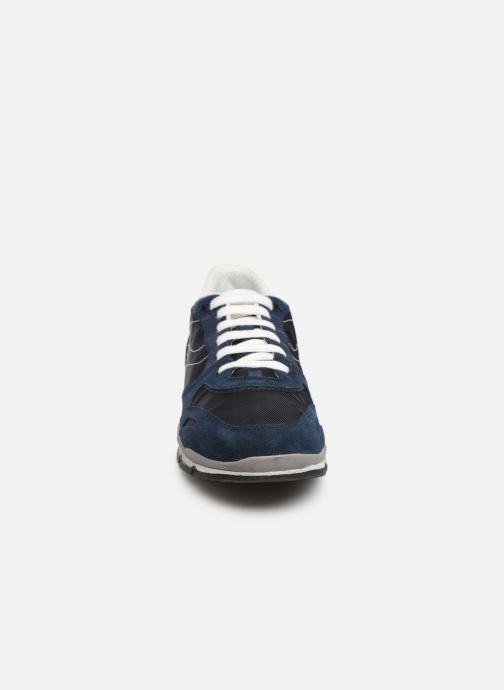Baskets Geox U Sandford U72A6A Bleu vue portées chaussures