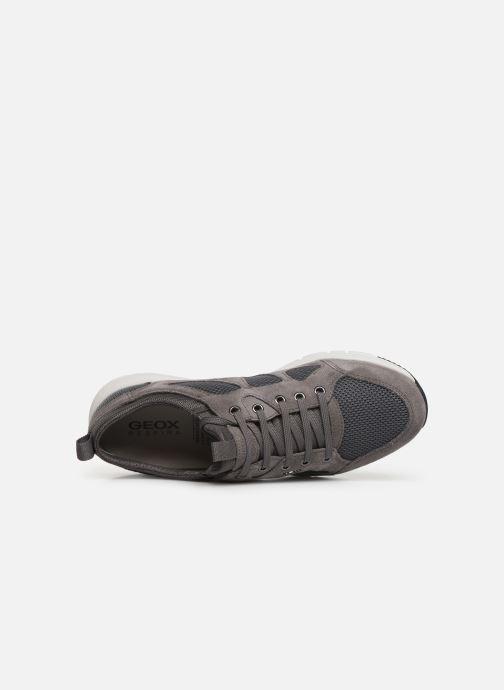 Sneakers Geox U Snapish U722DB Grijs links