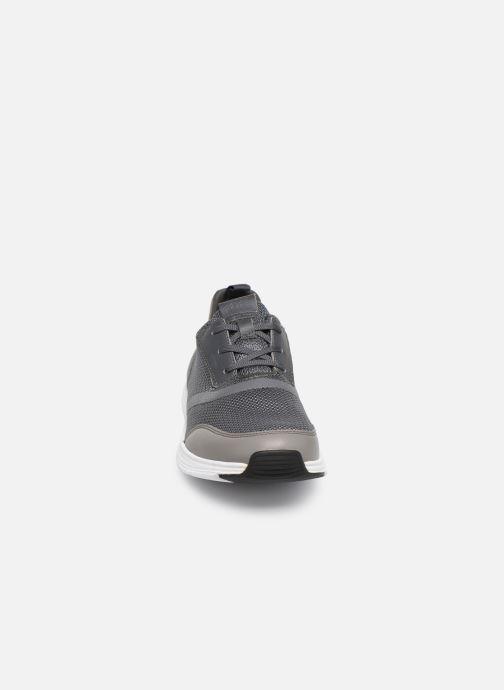 Baskets Geox U Snapish U822DA Gris vue portées chaussures