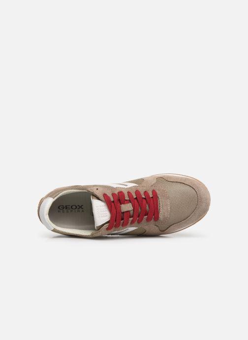 Sneakers Geox U Vinto U742LC Beige bild från vänster sidan
