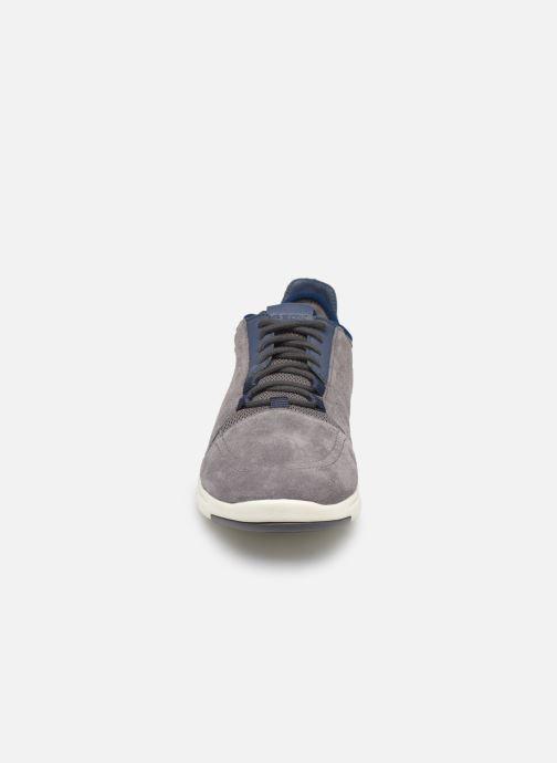Baskets Geox U Xunday 2Fit Gris vue portées chaussures