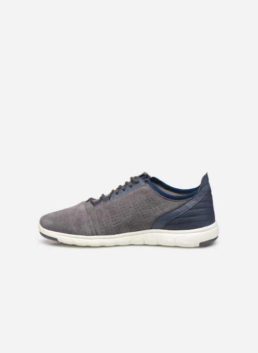 Sneaker Geox U Xunday 2Fit grau ansicht von vorne
