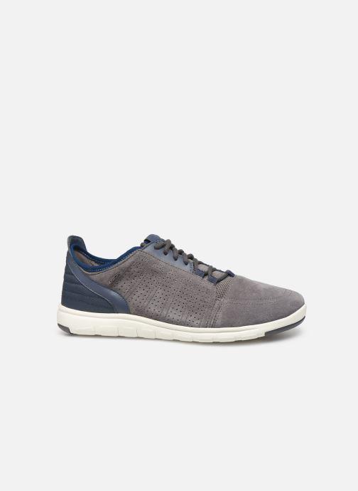 Sneaker Geox U Xunday 2Fit grau ansicht von hinten