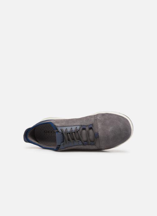 Sneaker Geox U Xunday 2Fit grau ansicht von links