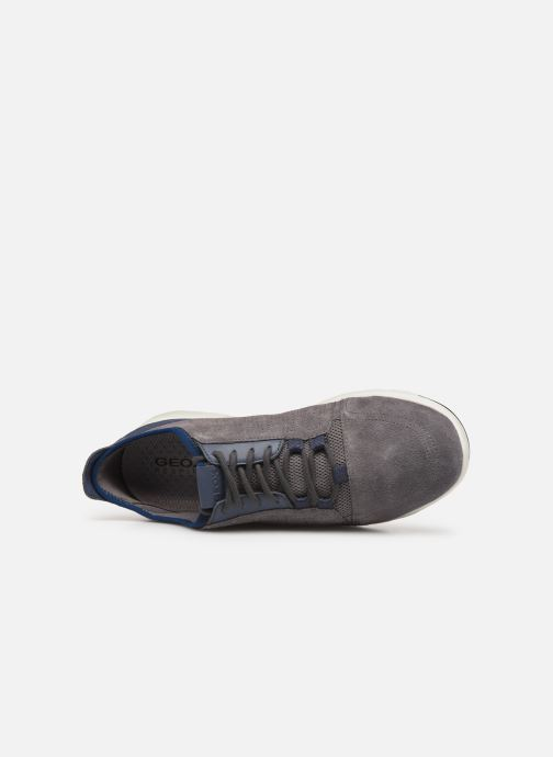 Sneaker Geox U Xunday 2Fit grau ansicht von links