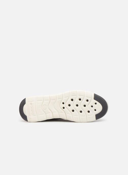 Sneaker Geox U Xunday 2Fit grau ansicht von oben