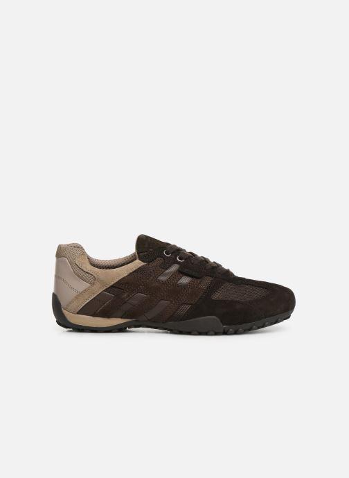 Sneakers Geox Uomo Snake U8207E Marrone immagine posteriore