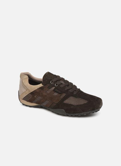 Sneakers Geox Uomo Snake U8207E Marrone vedi dettaglio/paio