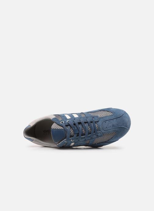 Baskets Geox Uomo Snake U8207E Bleu vue gauche