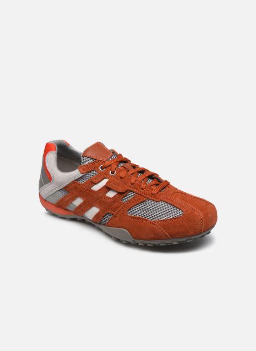Geox Uomo Snake U8207E (Arancione) Sneakers chez Sarenza